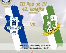 Zdjęcia główne wydarzenia: Mecz Texom Sokół Sieniawa - MKS Podlasie Biała Podlaska