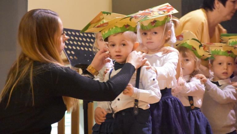 Zdjęcie główne newsa: Uroczystość pasowania na przedszkolaka w CKSiR