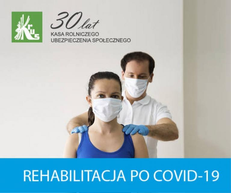 Zdjęcie główne dokumentu powiązanego: Komunikat KRUS - bezpłatna rehabilitacja dla rolników po przebytej chorobie Covid-19